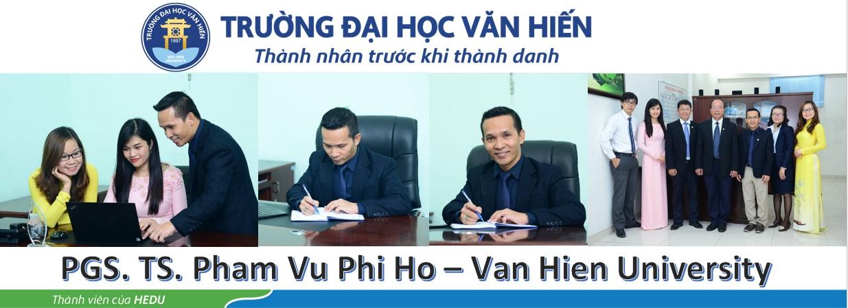 PGS. TS. Pham Vu Phi Ho
